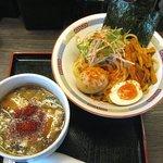 ラーメンにっこうact2 - 辛魚つけ麺(小:900円)