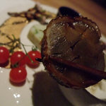料理屋 仲島 - 牛蒡の鰻巻き