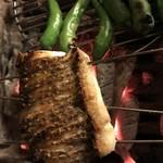 キッチン わたりがらす - 天然鯛の炭火焼