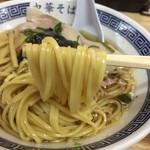 ぬんぽこ - 中華そば(780円)麺リフト