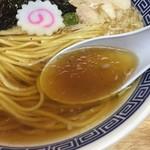ぬんぽこ - 中華そば(780円)スープ