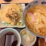 天丼てんや - 野菜天ぷらうどん