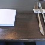 アキヒサ ハンダ - 2017年8月19日テーブルセット