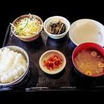 71774186 - 飛騨牛鉄板焼き定食