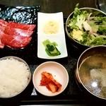土古里 - 土古里@ルミネ横浜店 カルビ&ロース(もも肉)盛合せセット