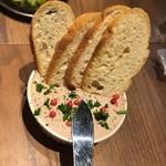 大衆ビストロ 煮ジル - 濃厚鶏白レバーペースト480円
