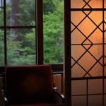 万平ホテル - アルプス館のお部屋の格子