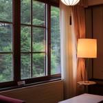 万平ホテル - アルプス館のリビング