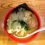 71778006 - ヤバイラーメン(小)+味付玉子