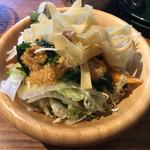 金嶋 - セットのサラダ