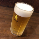 舟よし - 生ビール(中)