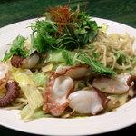ゐただ喜 - 料理写真:蛸塩焼きそば
