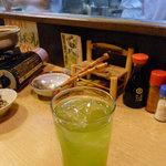 横浜すきずき - お茶割り焼酎