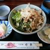 Suisha - 料理写真:「山菜おろしそば」大盛