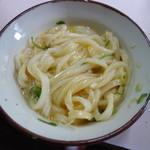71781261 - うどん小(温)(150円)+卵(50円)