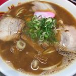 丸高中華そば - 焼めしセット(750円)の中華そば