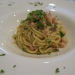 カルネ - 料理写真:29年8月 神楽南蛮と蛸のタリオリーニ