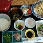 食在周防あらかわ - 糂汰味噌の天茶¥1620