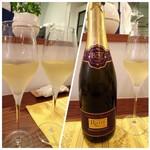 レストラン スーリール - ◆スパークリンクワイン(800円)・・これ飲み口も爽やかで美味しい。