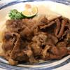 うどん工房 元 - 料理写真:和牛肉ぶっかけ冷大1180円(税込)