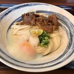 うどん工房 元 - 和牛肉ぶっかけ冷大1180円(税込)
