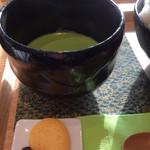 71787516 - お抹茶と和菓子付き