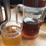 たかばしラーメン - ジャスミンティ茶