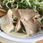 たかばしラーメン - 豚肉