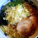 のっぴんらー麺 - ネギ塩ラー麺:730円