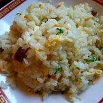 のっぴんらー麺 - 半チャーハン