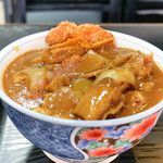 清平 - 料理写真:かつカレーうどん