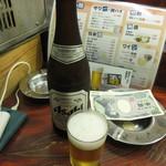 ひとりあじ - 瓶ビール(中瓶) 450円 (2017.8)