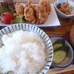 ひより食堂 - 料理写真:唐揚げ定食