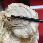 ラーメン二郎 - 【2017.7.27】豚バラロール。