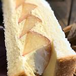 桃の農家カフェ ラペスカ - 大きめの桃がタップリ