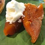 桃の農家カフェ ラペスカ - 干し柿