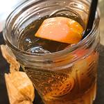 桃の農家カフェ ラペスカ - 桃の紅茶とピーチジュレ