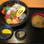 きんちゃく家 - 特上海鮮丼