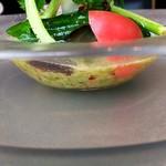 ラ・ブランシュ - 前菜1 夏野菜のガスパチョ