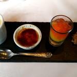 ラ・ブランシュ - 食後の珈琲セット