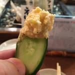71797154 - キュウリで食べるとウマウマ〜〜♪(๑ᴖ◡ᴖ๑)♪