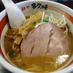 麺や 多久味 - 料理写真:「かつお香味」720円也。税込。