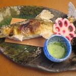 八勝閣 みづのを - 香魚の塩焼き