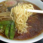 たんたん亭 - 麺