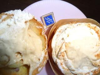 ラ・ブティック・テラコヤ nonowa武蔵小金井店 - シュークリームはね、フタですくって食べるんだ