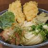 ウドン アン - 料理写真:とり天ぶっかけ  1.5玉