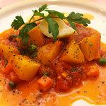 ヴォーノ - カジキマグロのかるーいトマト煮ケッパ風味(780円)