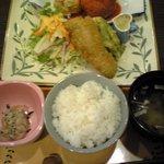 洋食の家 キャベツ - 日替わりセット ¥850