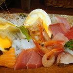 魚菜屋 - 刺身の漁師盛り