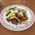 餃子の王将 - 鶏の味噌炒め   ¥500